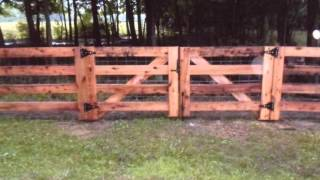 Fence Gates in Cincinnati, Columbus and Dayton Ohio