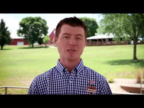 Shearing Show Lambs Part 2 - YouTube