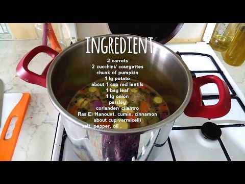 Harira Express  | Fast and Easy North African Soup