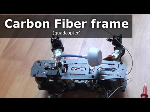 Carbon Fiber is an Electrical Conductor (Quadcopter)