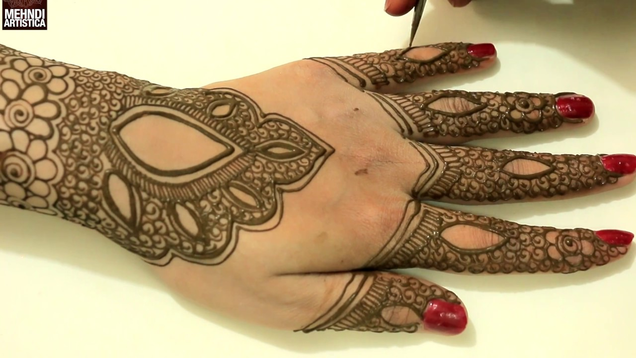 Indian mehndi designs for hands indian hand mehndi designs mehndi - Indian Pakistani Wedding Mehndi Designs For Hands Beautiful Intricate Henna Mehendi Design 2017 Youtube