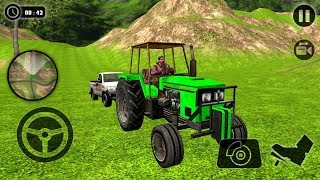 Offroad Tractor Pulling USA Driver 2018 - Android gameplay  #offroadgames #tractorgames