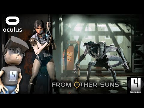 FROM OTHER SUNS VR (A Noobs Beta Gameplay)   Oculus + Touch   GTX 1060 (6GB)