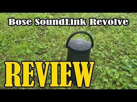 Bose SoundLink Revolve+ Portable & Long Review 2019