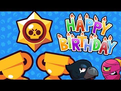 לייב בראול סטארס - יש לי יום הולדת!!! 6000+ גביעים