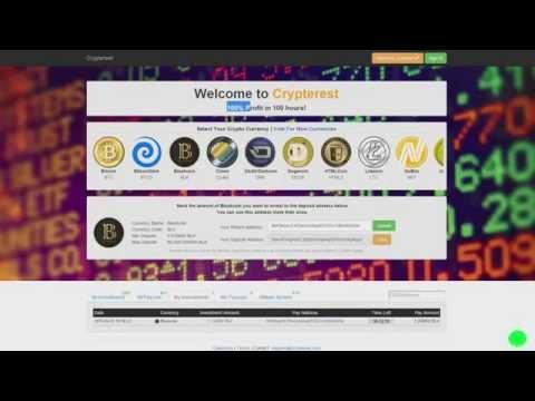 Crypterest   100% Profit криптовалют за 100 часов! Заработок в интернете!