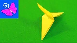 Оригами Вертушка из бумаги(Оригами из бумаги Вертушка (мини-вертолет) — бумажная игровая поделка. При броске или падении вращается!..., 2014-12-09T16:35:04.000Z)