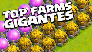 Os farms estrondosos do meu clã - Clash of Clans