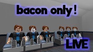 BACON HAIRS INVADE MURDER MYSTERY 2 (Roblox)   LIVE🔴