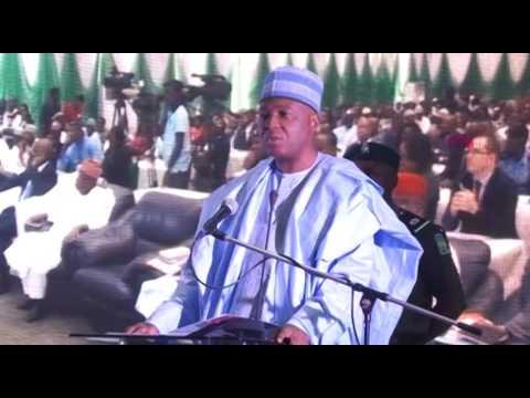 Sen. President  Bukola Saraki address at the 10th Abuja Housing Show