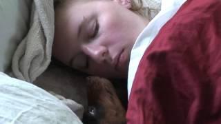 Wake Up Mommy!! I Wants Breakfast!!