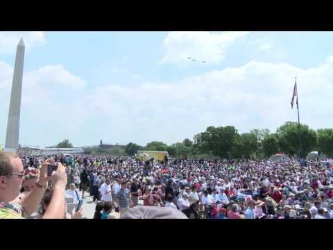 Arsenal of Democracy: World War II Aircraft Flyover