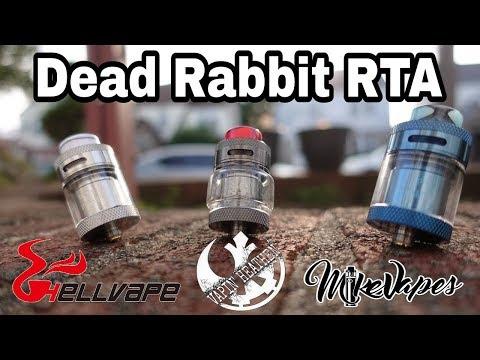 Dead Rabbit RTA By Heathen & Hellvape - Build & Wick - Mike Vapes
