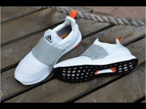 new concept 6a0c6 9ec8c On Feet of Authentic Adidas Ultra Boost x Wood Wood White Grey