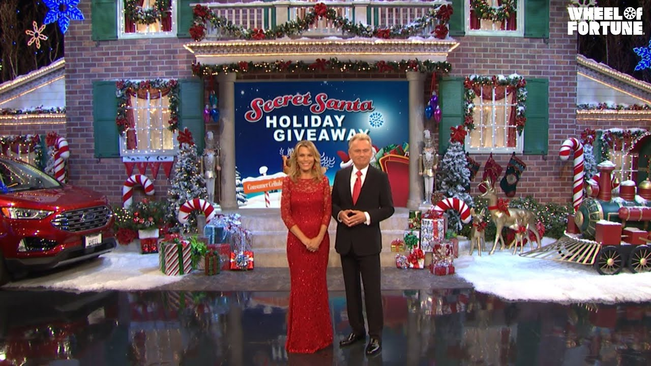 The Summer Secret Santa Giveaway Is Coming July 12-23! | Wheel of Fortune