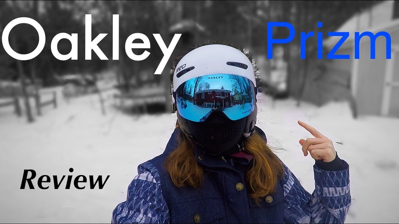 a25ae0461a083 Oakley Flight Deck Prizm Goggles REVIEW - YouTube