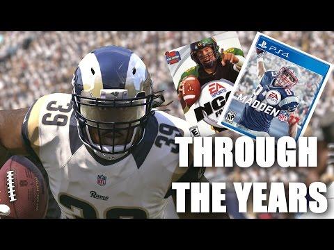 STEVEN JACKSON THROUGH THE YEARS - NCAA FOOTBALL 03 - MADDEN 17