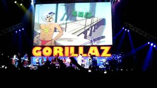 Gorillaz - get the cool shoe shine @ HMH Amsterdam