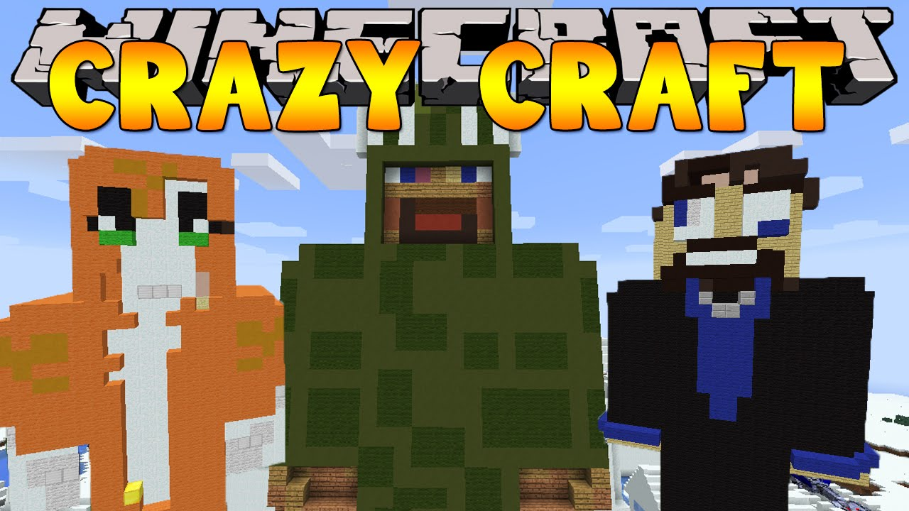 Minecraft crazy craft 3 0 youtuber builds 21 doovi for Http test voidswrath com modpacks crazy craft 3 0