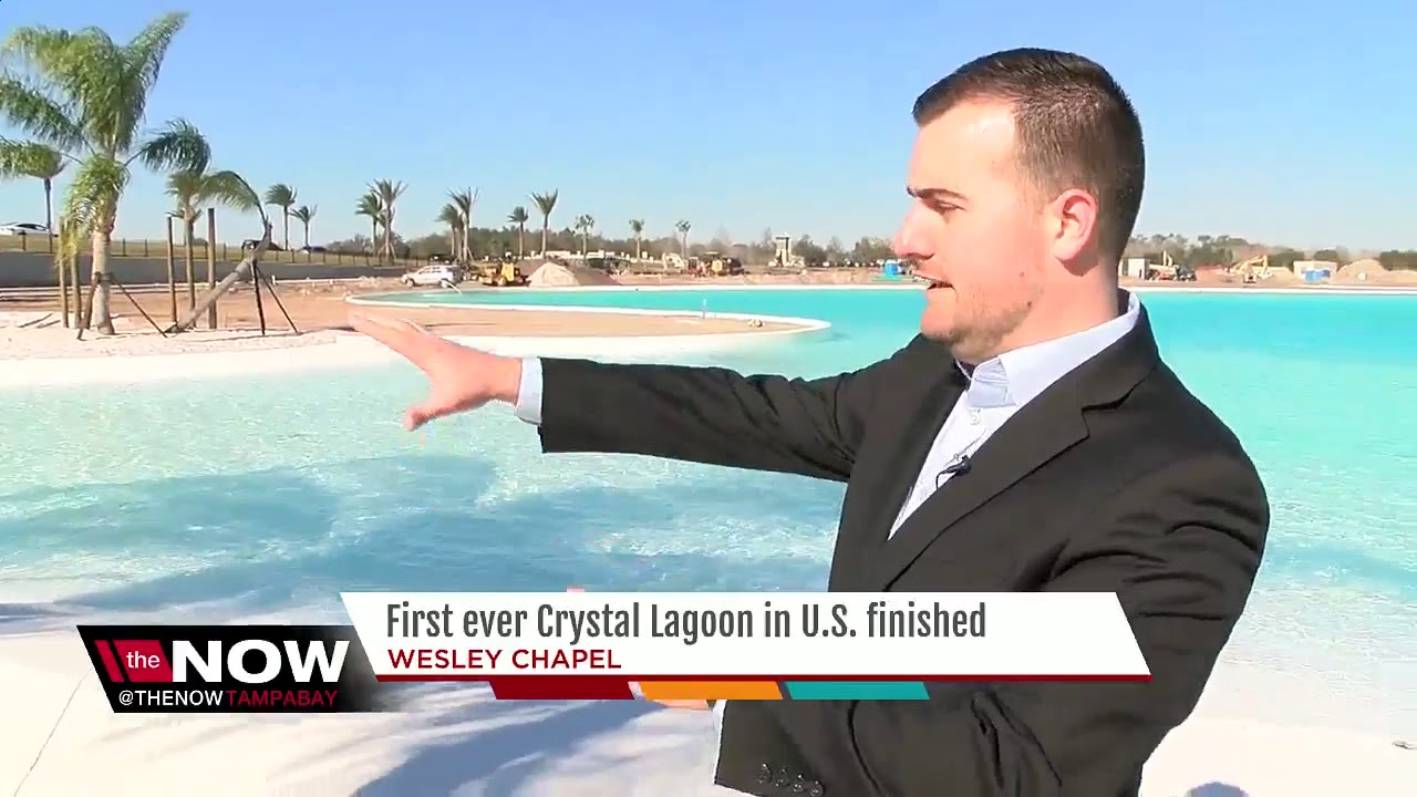 Crystal-clear Wesley Chapel lagoon now filled with water | Taste and See Tampa Bay