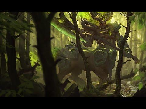 Elderwood Hecarim Skin Spotlight Gameplay - League of Legends (LoL new skin)