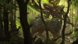 Elderwood Hecarim Skin Spotlight Gameplay - League of Legends (LoL new skin)