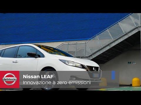 Nuova Nissan LEAF: innovazione e tecnologia nella mobilità a zero emissioni