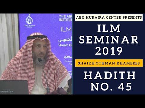 Hadith # 45 | Rulings on Lost Property | Jawāmi' Ul-Akhbār | Explanation | Sh. Othman Khamees
