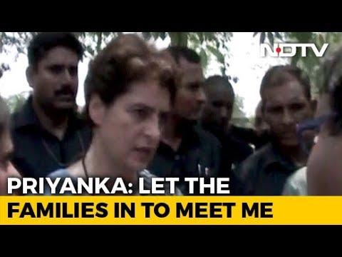 """""""Horrible Injustice"""": Priyanka Gandhi On Shootout In UP Village"""