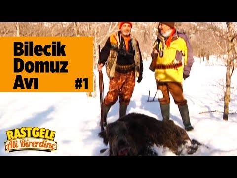 RASTGELE ALİ BİR ERDİNÇ bilecik domuz avı part1 16 9