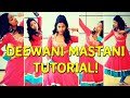 Deewani Mastani | Learn Dance Steps | Bajirao Mastani video