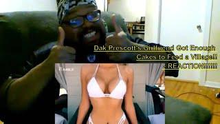 Dak Prescott's Girlfriend Got Enough Cakes to Feed a Village!! - REACTION!!!!!!
