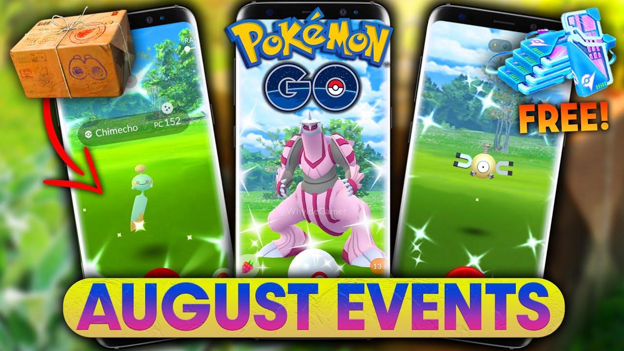 *AUGUST EVENTS* in POKEMON GO | SPOTLIGHT HOURS, LEGENDARY & MEGA RAID BOSSES + MORE