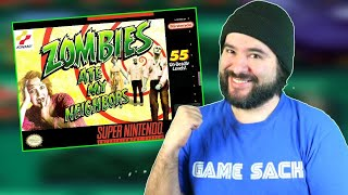 Zombies Ate My Neigнbors (SNES) - 8-Bit Eric Live