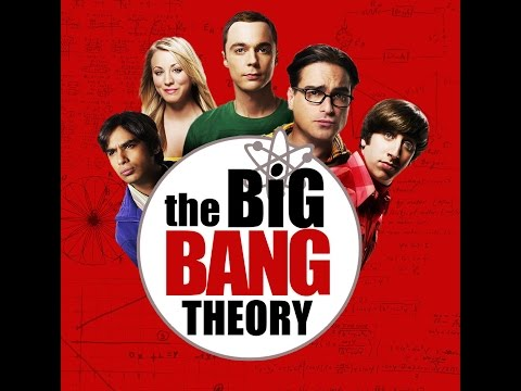 The Big Bang Theory - Opening theme song in slow motion