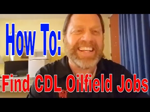 Find CDL Oilfield Jobs + Have THEM Call YOU   Red Viking Trucker   RVTGear.com