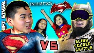 BATMAN vs SUPERMAN - Dawn of INJUSTICE  w/ Minecraft Ethan, Emma, Aubrey & Special Guest