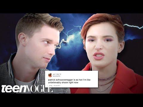 Bella Thorne & Patrick Schwarzenegger Compete in a Compliment Battle | Teen Vogue