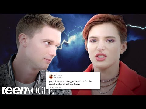Bella Thorne & Patrick Schwarzenegger Compete in a Compliment Battle  Teen Vogue