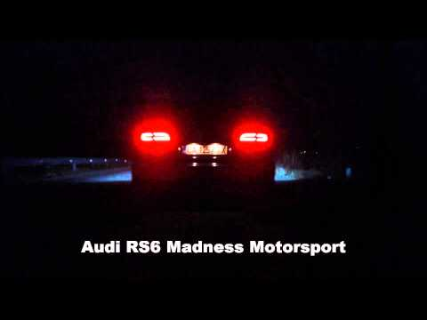Audi RS6 Madness Motorsport Stage1 0-100 3.8