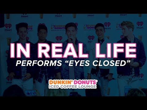 In Real Life Perform 'Eyes Closed' Live | DDICL