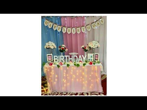 dekor ulang tahun - youtube