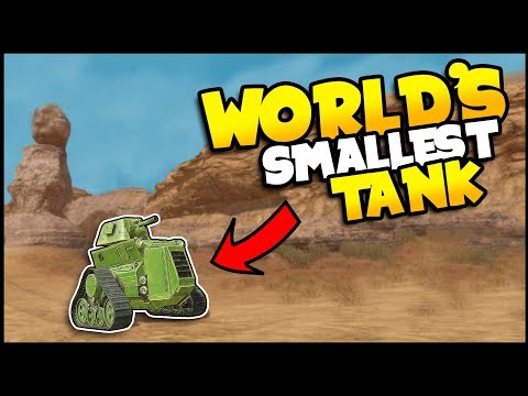 Crossout - THE WORLD'S SMALLEST TANK Is Back! New & Improved Micro Tank - Crossout Gameplay