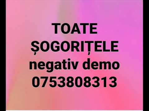 Toate Sogoritele - Negativ