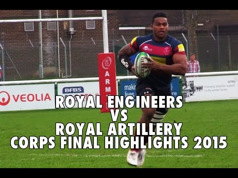 Royal Engineers vs Royal Artillery Army Corps Final Highlights 8-4-15