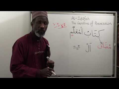 The Key to Arabic Book Two, Lesson Twenty Three