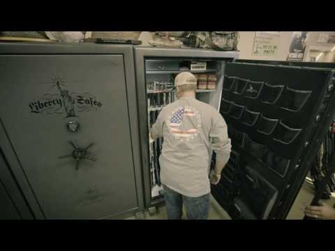 Crew at The Fowl Life and Dead Dog Walkin' Load Their Liberty Safes