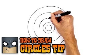 How to Draw Better Circles | Drawing Tip