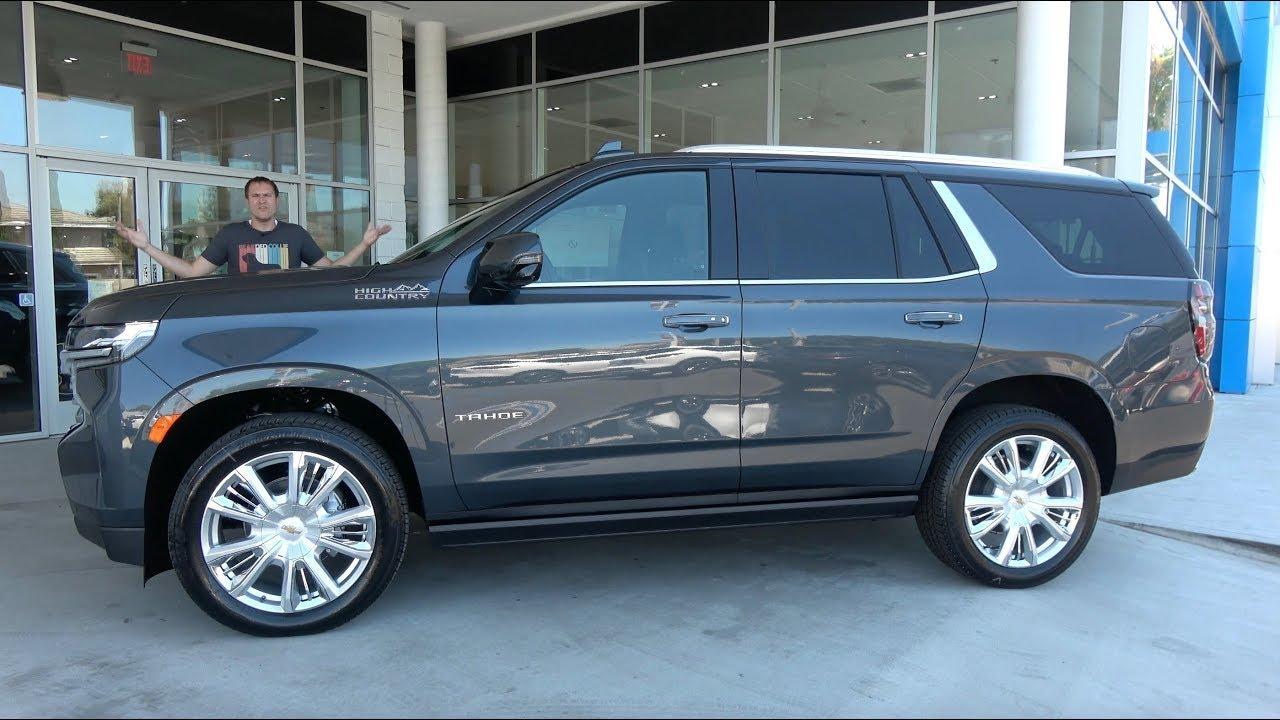 Chevrolet Tahoe пятого поколения 2021 / Видео