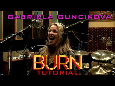 Vocal Tutorial - Gabriela Gunčíková - How To Sing Glenn Hughes - Deep Purple - Burn - Ken Tamplin
